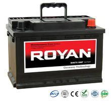 Whole Range 36Ah-220Ah Sealed Maintenance Free SMF MF Korea Style Heavy Duty Automotive Battery Car Battery 1 Year Warranty