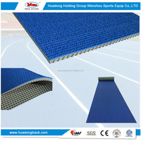 Synthetic running tracks sport rubber track and field material