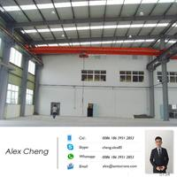 steel factory use 10 ton single beam overhead crane bridge crane EOT crane