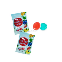New Wholesale 2 in 1 Mix Fruit Hard Candy
