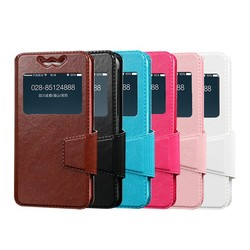 3.6''-3.9'' smartphone leather universal flip phone case,universal silicone phone case