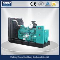 USA diesel engine KTAA19-G6A 500kw 630 kva generator price