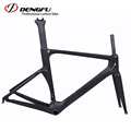 2017 DENGFU aero road bike carbon fiber bike frame C Brake