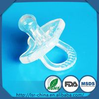 baby silicone ring pacifier,baby pacifier clip holder,factory ODM silicone nipple breast