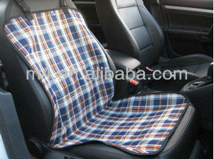 600D Oxford fabric with PVC coated car bucket seat cover for pet
