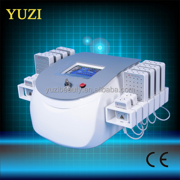 Portable 650 nm Diode cold laser fat loss machine // cool sculpture // lipolaser