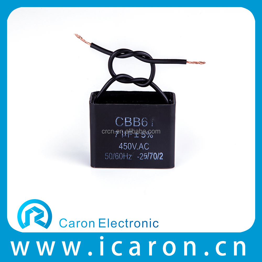 1.2uf 450v film thin elec capacitor for fan 400v made in China