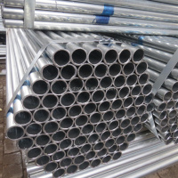 ASTM A53 galvanized pipe/AS1163 C450 DN50 Hot dip galvanized steel pipe