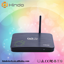 CS818II mobile dvb-t2 tv receiver analog television AMLogic8726-MX Android4.2 dual core tv box in stock