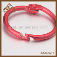 Fashion metal material red color paper clips for sale