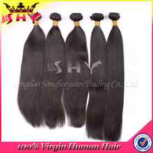 Promotion high quality virgin 100% indian human hair extension wholesale