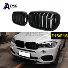 For BMW F15 X5 F16 X6 style car grill plastic front car grille