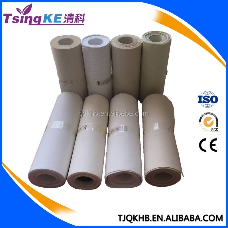 TsingKe High efficiency of dust removing Nonwoven fiberglass compound filter bag