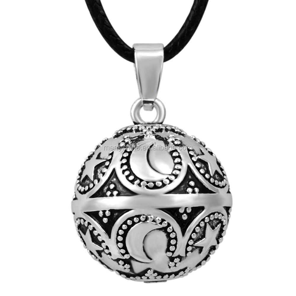 Enamel Silver /Gold High Quality Angel Caller New Chime Ball Necklace wholesale