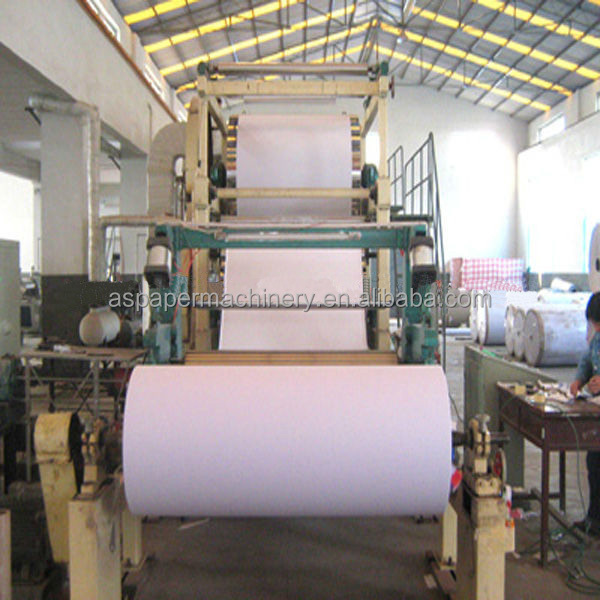 wholesale mini continuous paper machine China office a4 copy paper making machine/a4 size copy paper machine Manufacturers