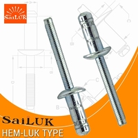 Stainless Steel Hardware Dome Head Fastener