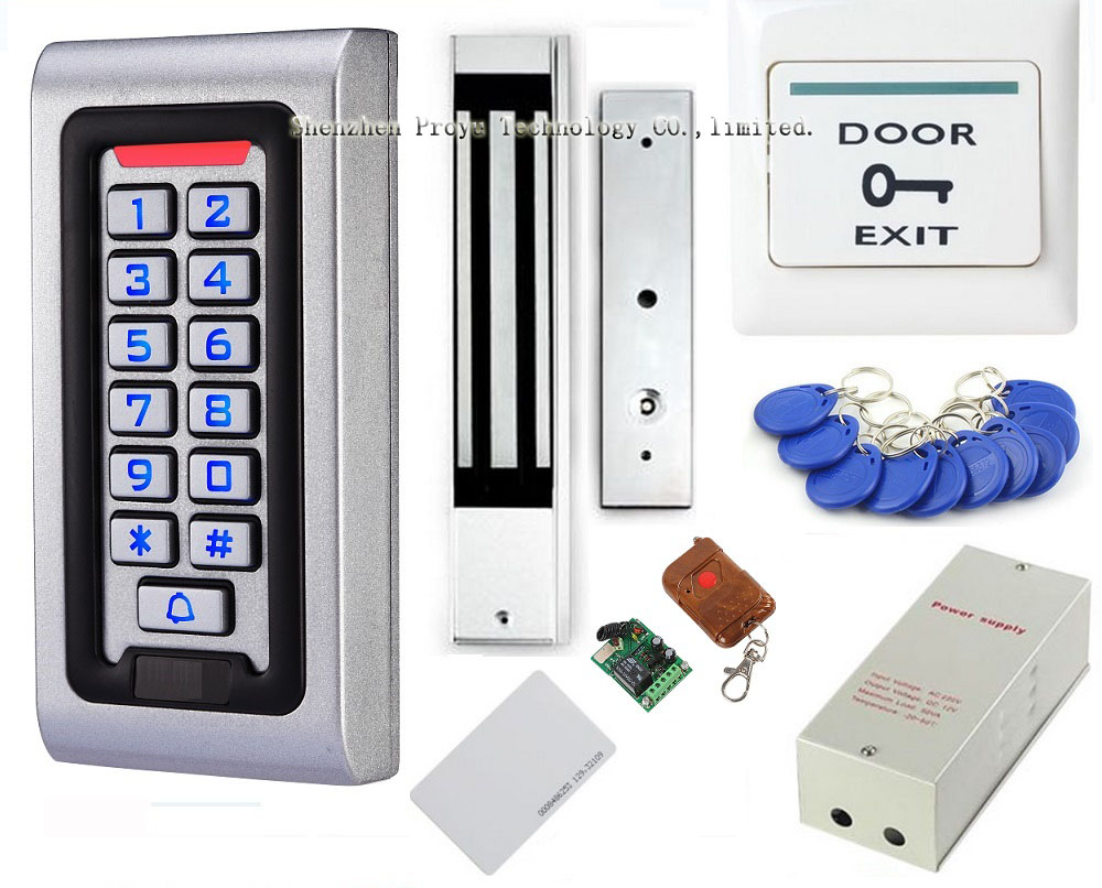 Alibaba express remote electric rfid door access control system glass door