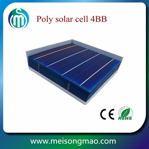 6inch poly crystal silicon solar cells with superior quality