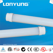 PC Frosted Cover ledTube CE Rohs LED tube T8 2700K