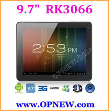 "NEW 9.7"" dual core Tablet RK3066 A9 Android 4.2 1.6GHz 3G Tablet PC with BT, 10 Point ips Capacitive OPNEW"