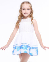New fashion style latest children dress designs boutique dresses for girls of 10 years old