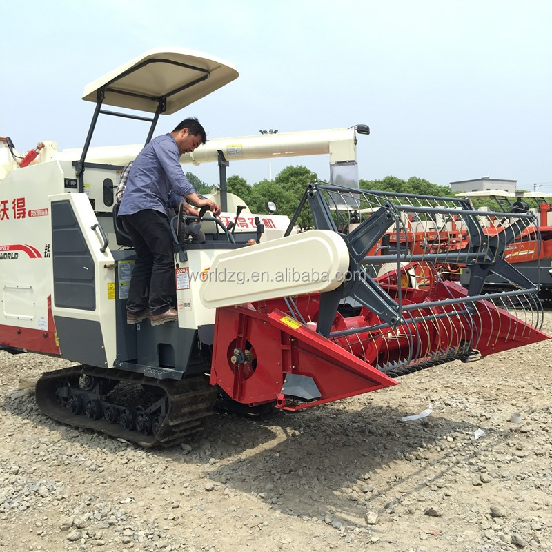 Price of 4LZ-4.0E 88HP Rotary Auger Paddy Rice Combine Harvester