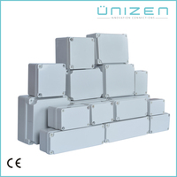 Unizen Junction Box Type and IP67 Protection Level ABS outdoor waterproof box plastic enclosure