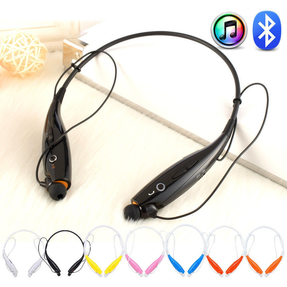 OEM high quality HBS730 neckband wireless bluetooth earphone for iphone 7