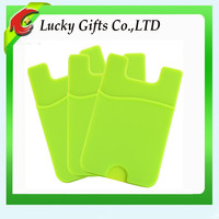 Best Promotional Gift 3M Silicone Phone Card Wallet ID Card Holder