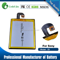 LIS1558ERPC battery best cell phone battery for Sony Xperia Z3/Z3 Compact /D5803/D6616 /D5833