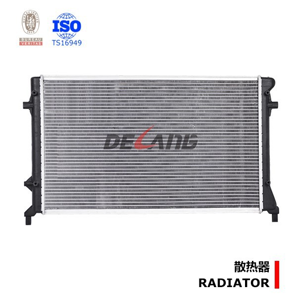 Water cooling auto radiator for VOLKSWAGEN GOLF with OE 1K0121251 AR/1K0121253 A (DL-B136)