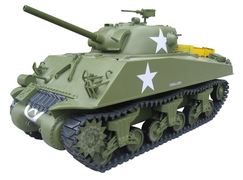 225GT602-1/6 M4A3 Sherman Tank - 75mm Gun GP