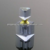Glass Perfume Bottle Crystal Perfume Bottles With Glass Cap