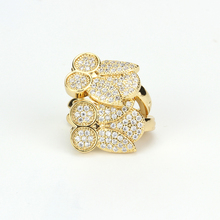 golden earring designs for women wholesale fashion jewelry brass jewelry new model earrings