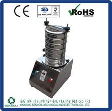 Comparable size analysis vibration testing machine