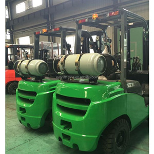 1.5 ton 2.5 ton 3 ton 3.5 ton 3m 5 m 4.5m 3 stage triple mast New Hot Sale LPG forklift