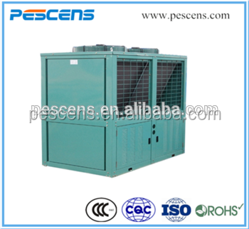 Bitzer Box type piston compressor condensing units compressor condensing unit fan with u type condenser for cold room storage