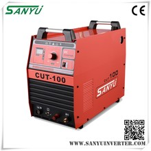 Sanyu 2016 Three phase AC380V IGBT Inverter DC high frequency air cnc plasma welders with high duty cycle CUT-100