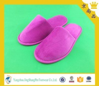 disposable cheap and comfortable walk slipper with eva sole in hot sale