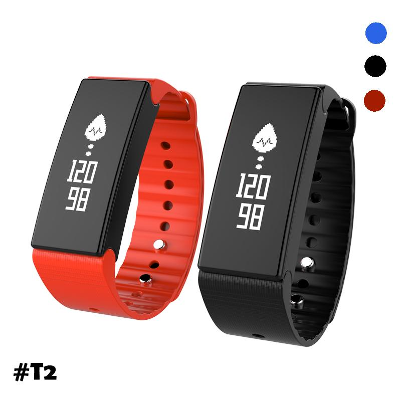 2017 newest activity tracker waterproof BT health bracelet for Android & IOS