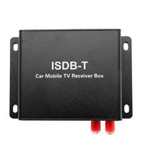 Mini ISDB Mobile Car Digital TV Box High Speed 100KM/H Strong Signal Receiver with Antenna