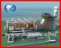 Gas and Steam Combined Cycle Power Plant CCPP
