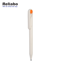 Reliabo Russian Market Hot Sell Promotional Plastic Hotel Ball Pens With Company Logo