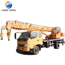 2017 new model best sale 8 ton mobile truck crane with 26m lifting height