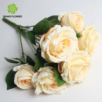 Realistic silk holland rose artificial rose decorative rose flower