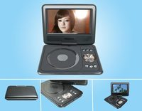7 inch portable dvd player with digital tv tuner car dvd