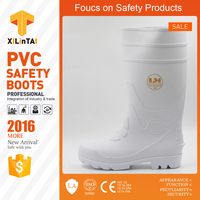 White Protective Safety Boots