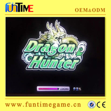 dragon hunter 6/8 players arcade coin operated updated software fishing game