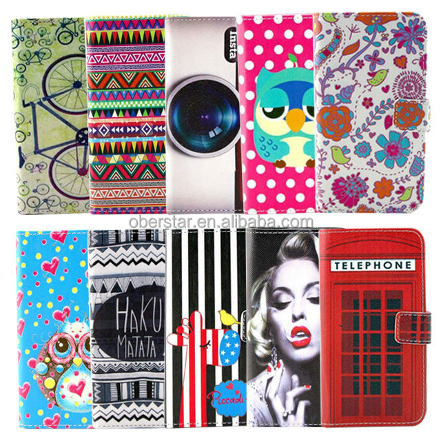 china supplier Printed wallet leather mobile phone case For Samsung Galaxy S4 mini mobile accessory