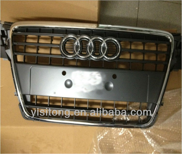 auto parts chrome front grille replacement used for Audi A4